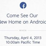 Facebook anuncia evento Android para el 4 de abril