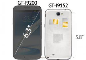 Galaxy Mega 5.8 y 6.3 los nuevos phablets de Samsung