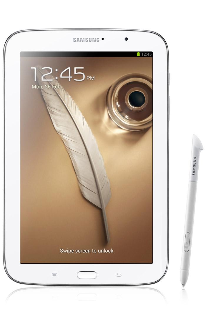 Samsung Galaxy Note 8.0 WiFi en México de lado