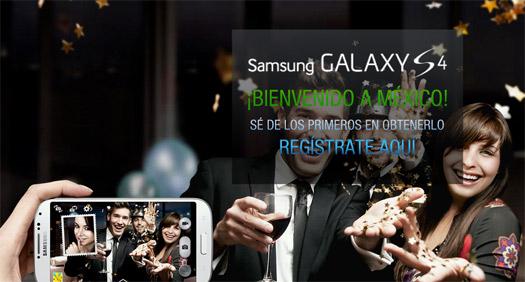 Samsung Galaxy S 4 en preventa con Telcel