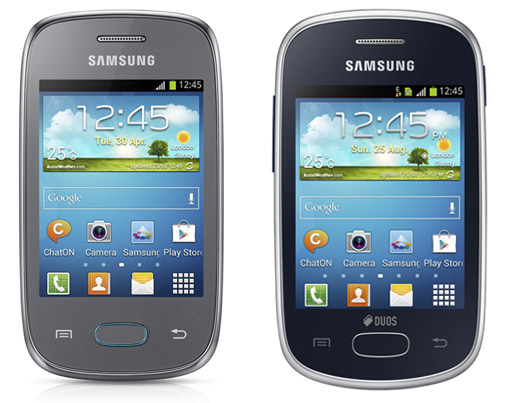 Samsung Galaxy Pocket Neo y el Galaxy Star