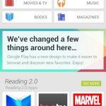Google Play Store 4.0 rediseño en primera imagen filtrada