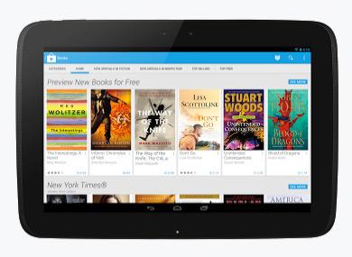 Google Play Store nuevo diseño interfaz tablet