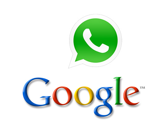 Google WhatsApp Logos
