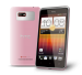 HTC Desire L Android Jelly Bean color rosa