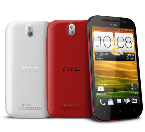 HTC Desire P colores
