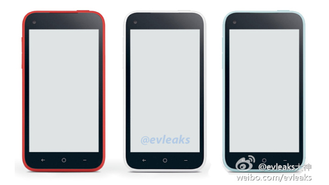 HTC First  Facebook Phone opciones de color
