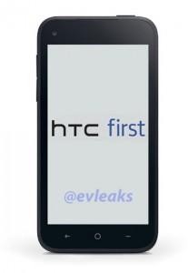 HTC First el Facebook Phone en primera imagen filtrada