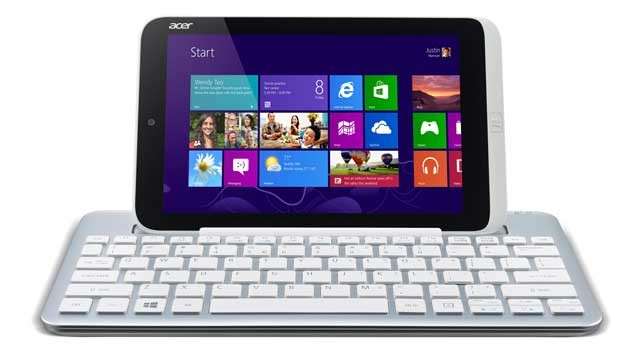 "Acer Iconia W3 de pantalla de 8"" Windows 8"
