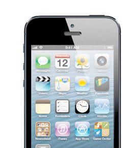 Apple iPhone 5 detalle