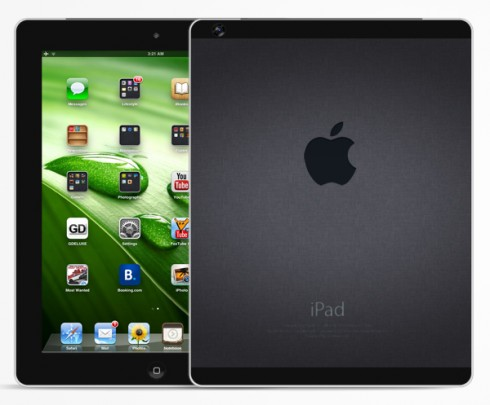 Apple iPad 5 prototipo render no oficial