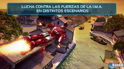 Iron Man 3 para iPhone y Android