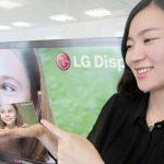 LG planea smartphone con pantalla flexible este año