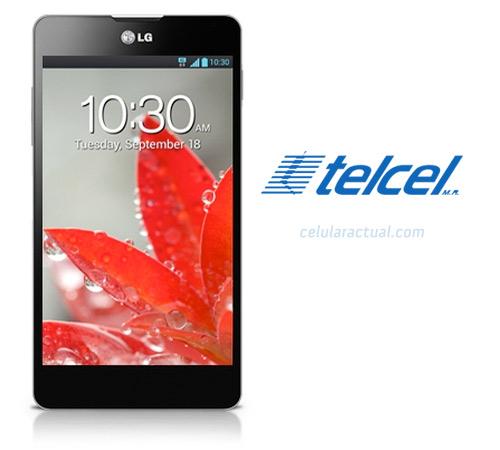 LG Optimus G en México con Telcel