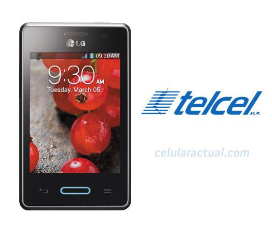 LG Optimus L3 II L3X E425 con Telcel México