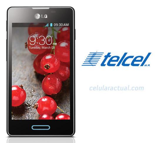 LG Optimus L5X L5 II E450F Telcel México