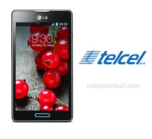 LG Optimus L7X P714 México con Telcel