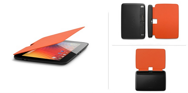 Nexus 10 Book Covers Naranja