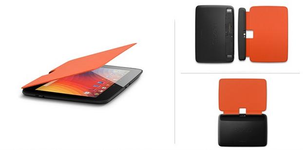 Nexus 10 Book Covers Naranja
