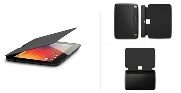 Nexus 10 Book Covers color Gris oscuro