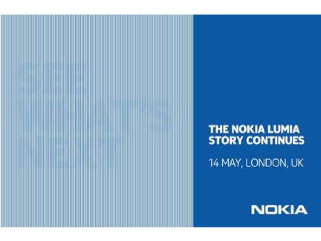 Nokia 14 de mayo invitación