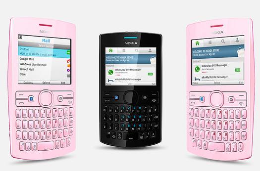 Nokia Asha 205 con botón dedicado a Facebook en México