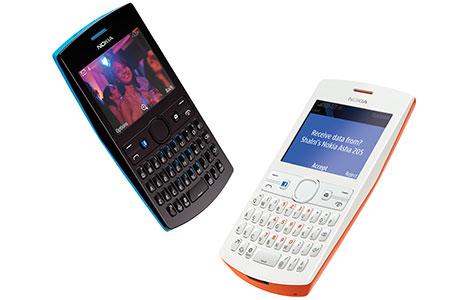 Nokia Asha 205 color blanco y negro en México