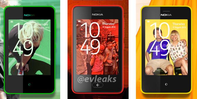 Nokia Asha nuevo diseño 2013