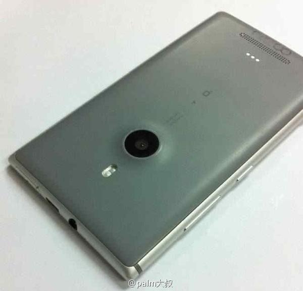 Nokia Catwalk filtrado con aluminio Cámara con gran lente