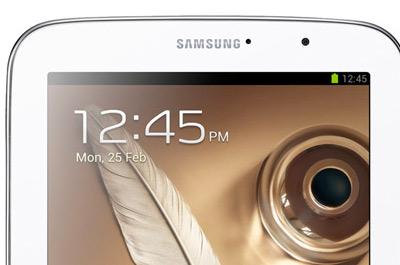Galaxy Tab 8.0 detalle