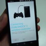 Sony por lanzar soporte para control Dualshock 3 en Xperias