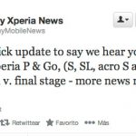 Sony Xperia S, P, Go, SL, acro S y ion listos para recibir Android 4.1 Jelly Bean