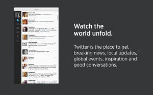 La app de Twitter para Mac