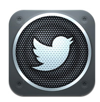 Twitter #music iOS icon