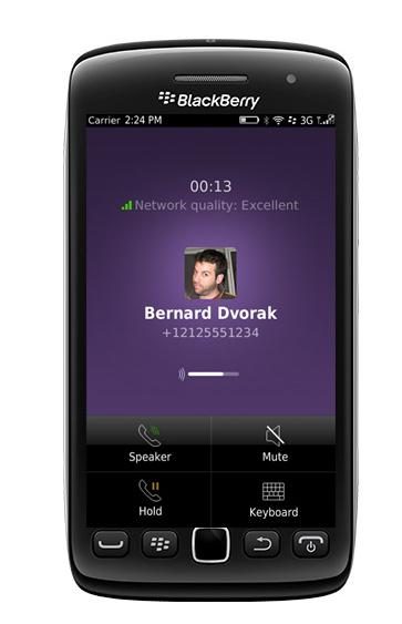 Viber en BlackBerry 5 y 7