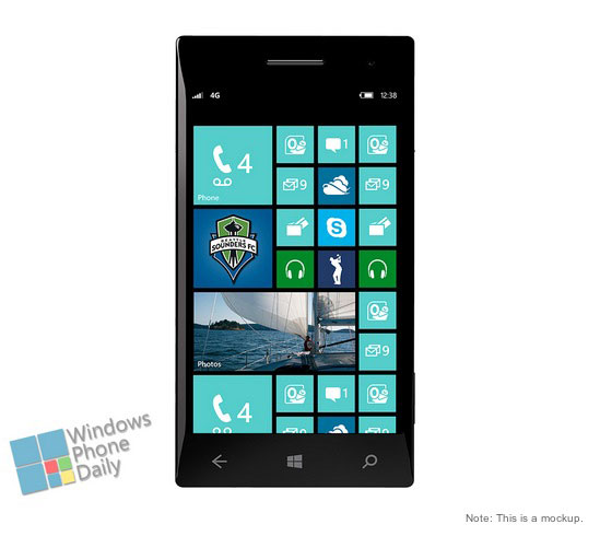 Windows Phone 8 GDR3  Mockup imagen no oficial