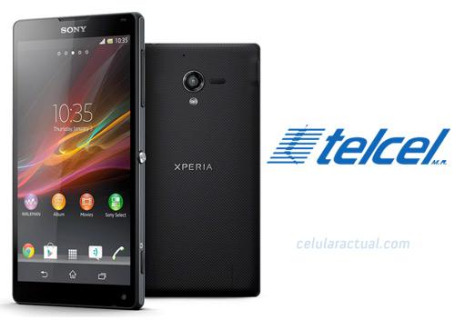 Sony Xperia ZL en México con Telcel