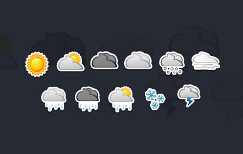 Yahoo lanzó una app del clima para iPhone.