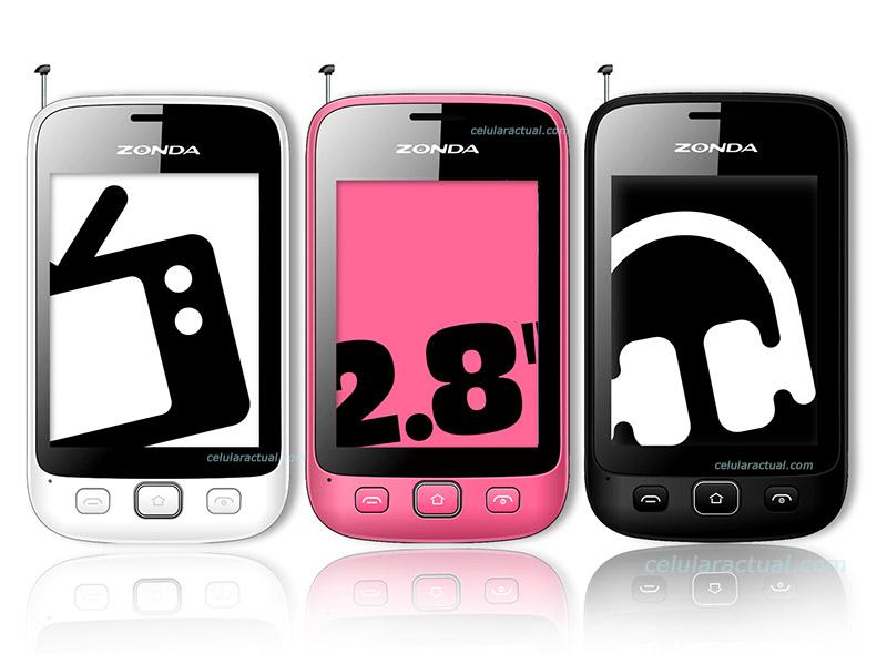 Zonda ZM26 Touch con WiFi en México en modo desbloqeuado