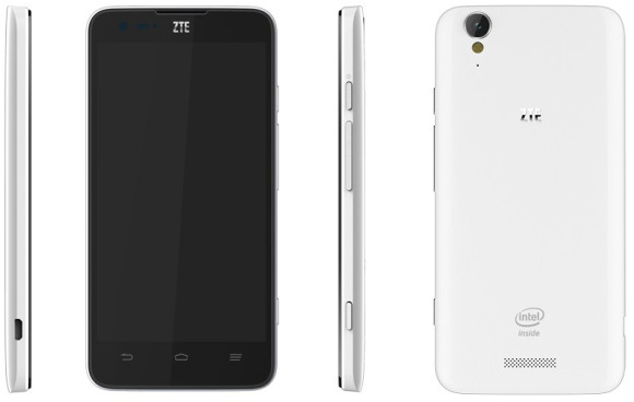 ZTE Geek Intel procesador y Android 4.2 Jelly Bean