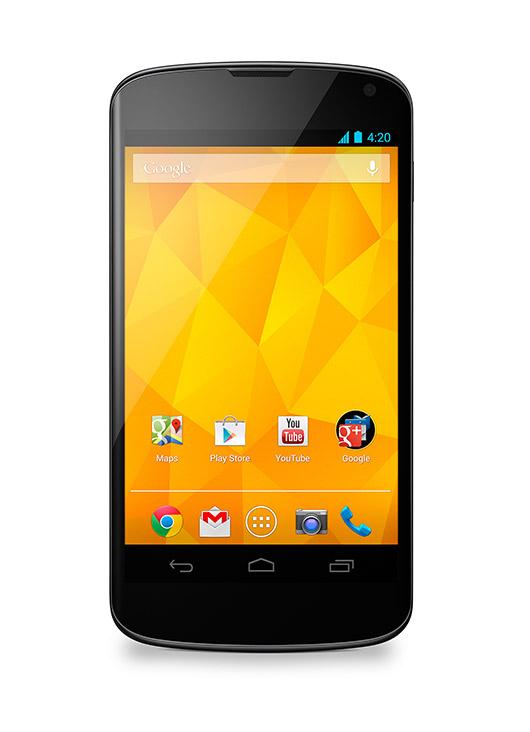 LG Nexus 4 Blanco es anunciado se venderá el 29 de mayo