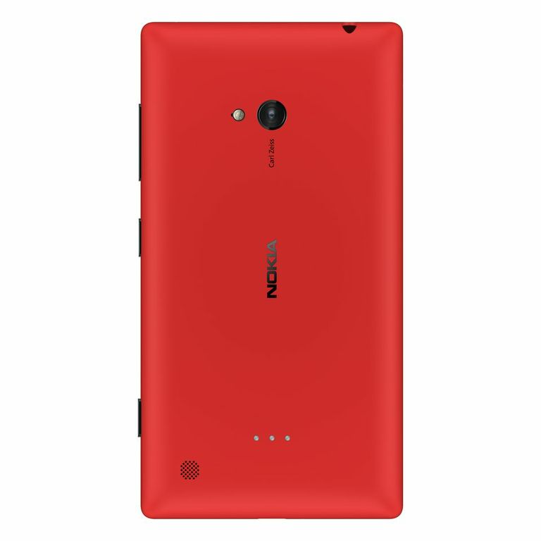 Nokia Lumia 920 color rojo cámara