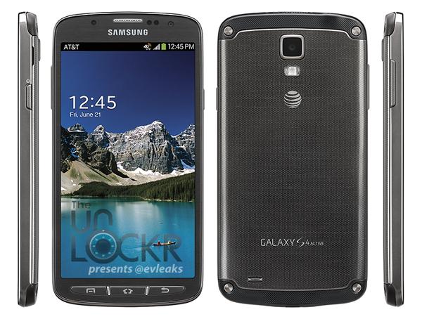 Samsun Galaxy S4 Active foto oficial de prensa filtrada