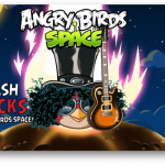 Angry Birds Space llega a BlackBerry 10 con Slash bird