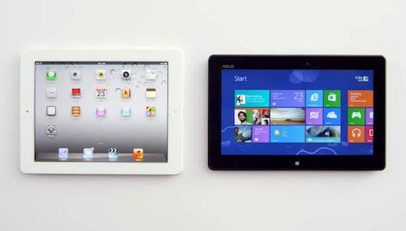 Microsoft emplea a Siri para mostrar fallos del iPad en anuncio
