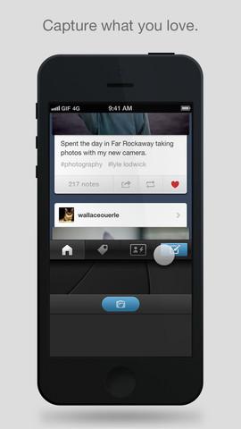 App de Tumblr para iOS