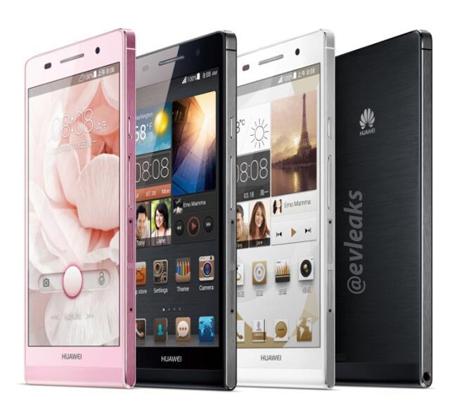 El  Huawei Ascend P6 en primeras fotos oficiales un ultra delgado smartphone