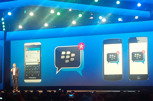 BlackBerry Messenger en Android y iOSBlackBerry Messenger en Android y iOS