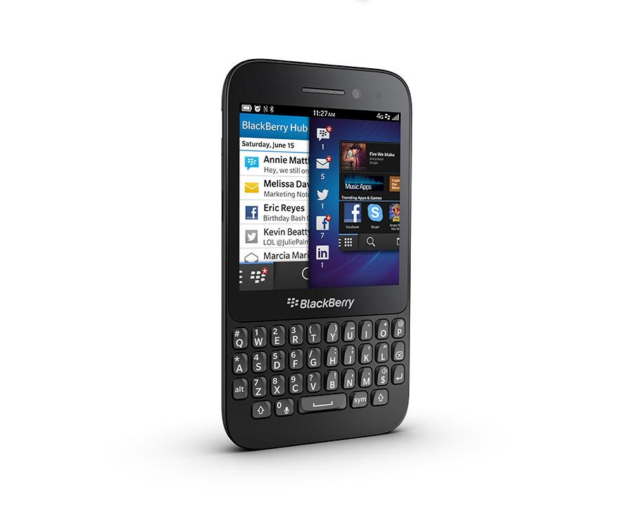 BlackBerry Q5 oficial Skype, QWERTY, BB OS 10, color negro pronto en México