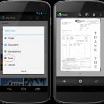 Google Drive app para Android se actualiza ahora con Scan a PDF